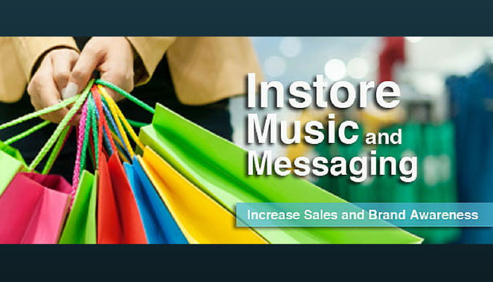 in-store music, overhead music, business music, background music, music for business